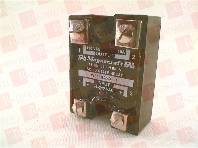 SCHNEIDER ELECTRIC W6110ASX-1   W6110ASX1 (NEW IN BOX)