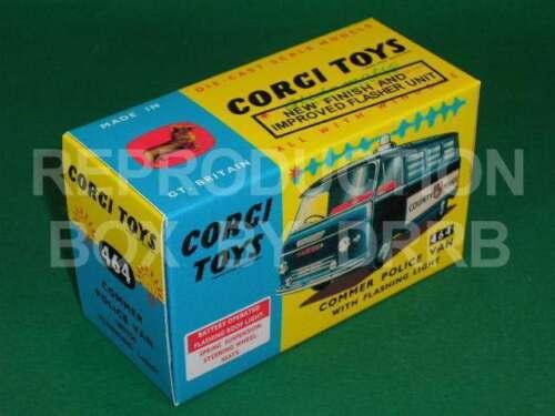 Corgi #464 Commer Van De Policía-Caja de reproducción por drrb