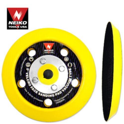 """Lot of 10 5/"""" Velcro Face Sanding Pads For Vacuum Neiko Tools"""