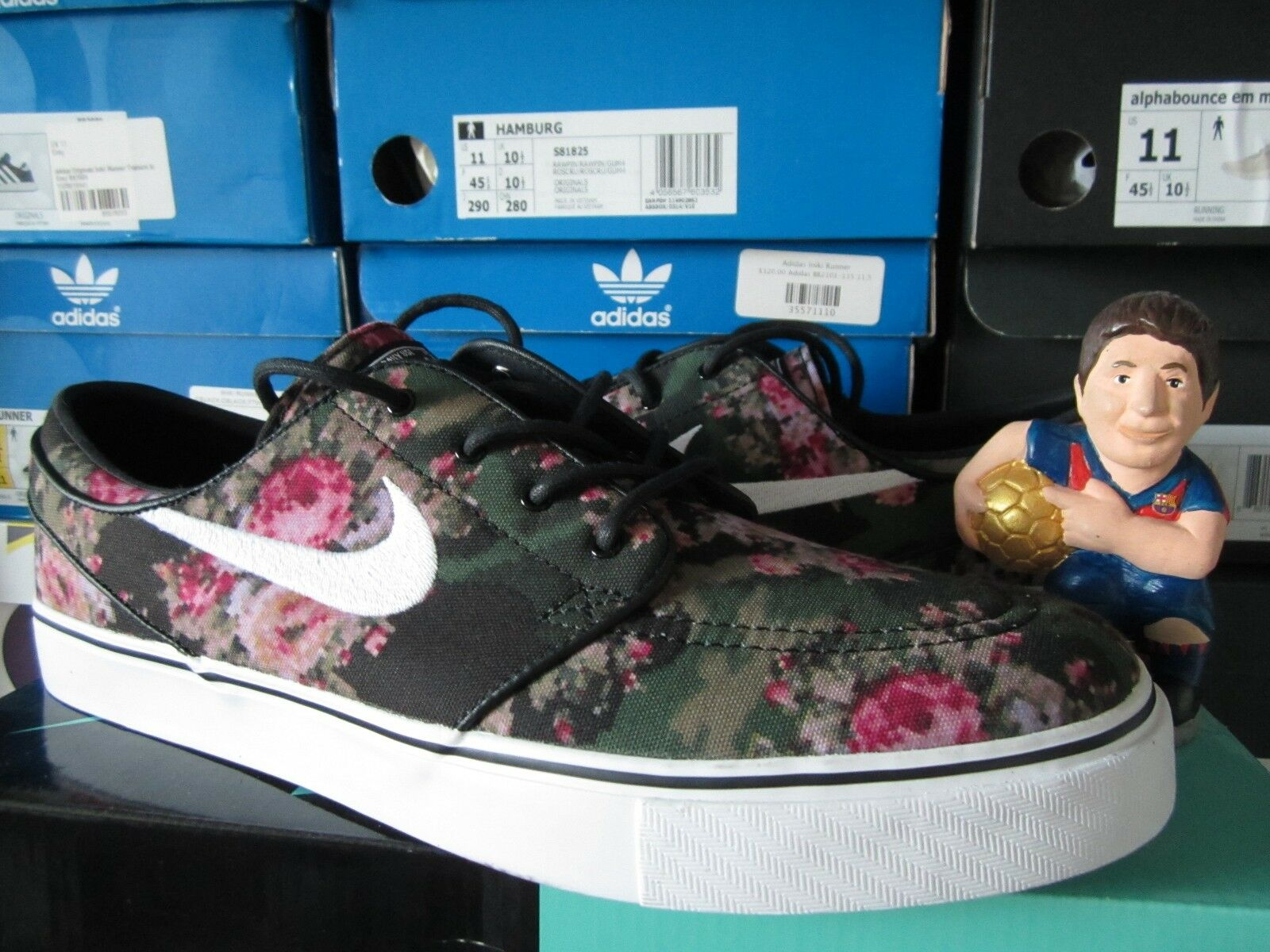 Nike Zom Stefan Janoski PR Digital Digi Floral Camo SB shoes Rare 482972-900