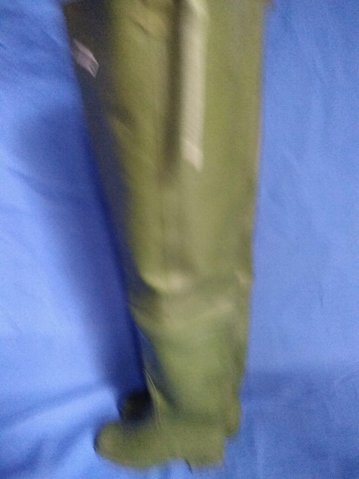 Rubber Stiefel pesca botas de pesca Stiefel caza trabajo de caucho natural color verde talla,43_ 59168c