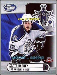 PACIFIC-CALDER-2003-SCOTT-BARNEY-NHL-RC-LOS-ANGELES-KINGS-SILVER-ROOKIE-575