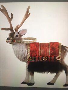 Father Christmas Reindeer 2020 Father Christmas Reindeer Ornament Hallmark 2020 PRESALE LIMITED
