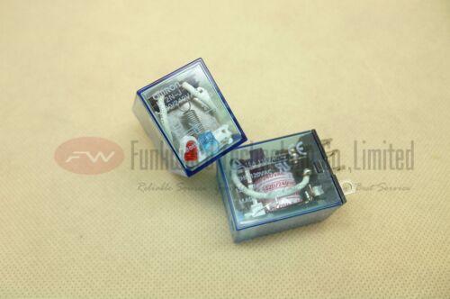 LY2N-J 220//240VAC Electromagnetic Relay 10A x 2pcs