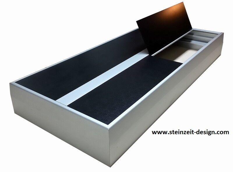 ALLUMINIO copertura acquario 150x50cm anche fatto su misura fino a 6m acquari COPER O