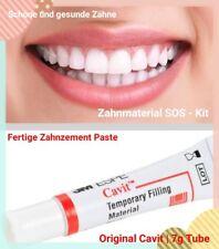 • Zahnschmerzen Füllung verloren Brücke Krone Zahnzement ARZT Reiseapotheke •