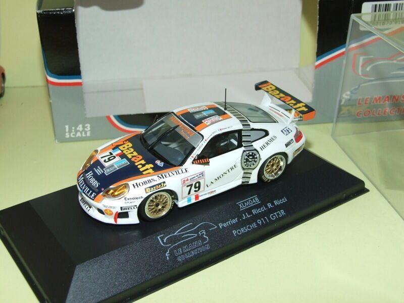 PORSCHE 911 GT3R N°79 LE MANS 2000 ONYX XLM048 Arrivée 23ème IBAZAR