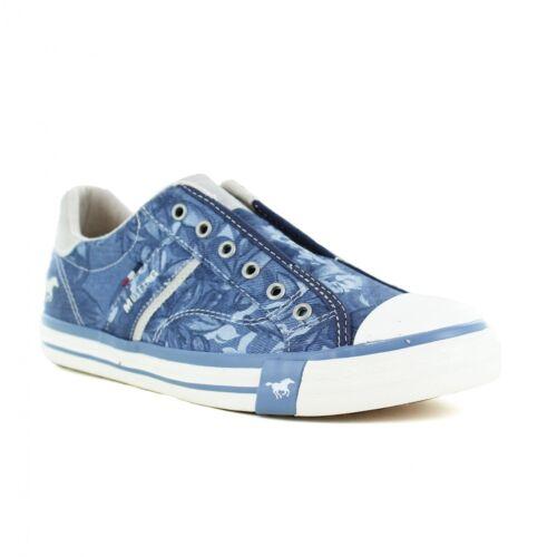 Mustang 1146-402-800 Womens Fashion Trainer Shoes Dark Blue