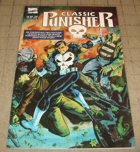 CLASSIC PUNISHER #1 (Dec 1989) VF Condition TPB Comic - 1st Print