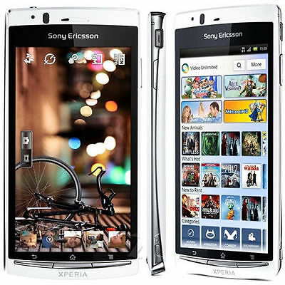 New Unlocked Sony Ericsson XPERIA arc S LT18i 8MP White Android Smartphone