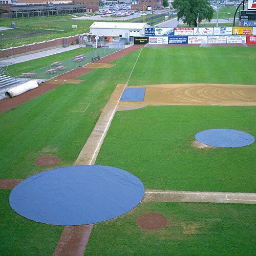 20' Circular Pitcher's Mound Cover - Weight  25 lbs