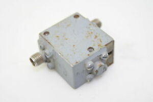RF-Microwave-Isolator-Circulator-4-8-15-GHz-20dB-Isolation-Low-IL-SMA-Tested