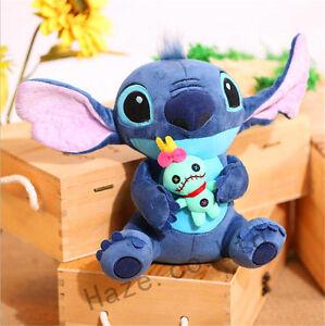 Stitch-Plush-Toy-Lilo-amp-Stich-Soft-Toy-Stuffed-Doll-23CM-Figure-Gift-9-034