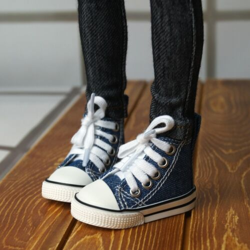 """1//3TH Blue Canvas Sneakers Shoes Boots For Male 1//3 24/"""" BJD SD AOD AS DOLL G/&D"""