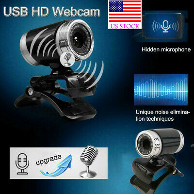 Adjustable Focal USB HD Webcam Powerful Web Cam Camera with MIC for PC Laptop