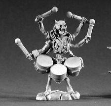 Arachno Musician Reaper Miniatures Dark Heaven Legends Undead Skeleton Drums