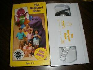 Barney - The Backyard Show (VHS, 1988) 45986980113 | eBay