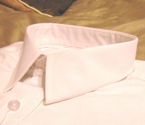 Mens White Dress Shirt Neck 16-24 Inches  Sleeves 22-38 inches L to XXXXXL