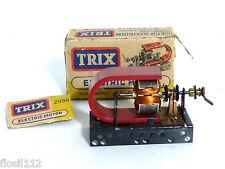 Elektro-Motor uralt Dampfmaschine,Antriebsmodelle Metallbaukasten läuft Trix,OVP