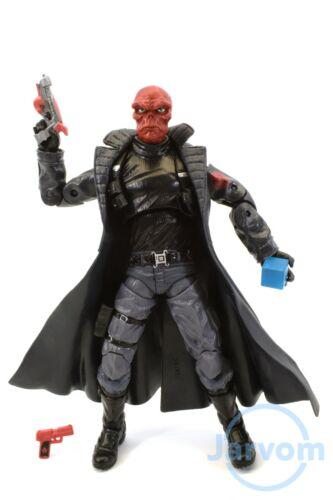 """Marvel Legends 6/"""" pouces Mandroid BAF Wave Red Skull Hydra Loose complet"""