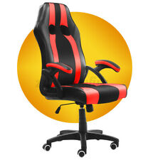 High Back Executive Office Chair Ergonomic Computer Desk Racing Gaming Chairs