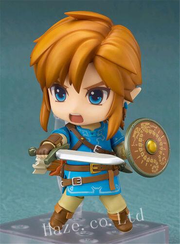 The Legend of Zelda breath of the Wild Nendoroid Link Action Figure Toy