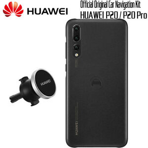 size 40 f4e63 3adaa Details about HUAWEI P20 Original Official Navigation Kit Magnetic Cover  Case + Car Holder