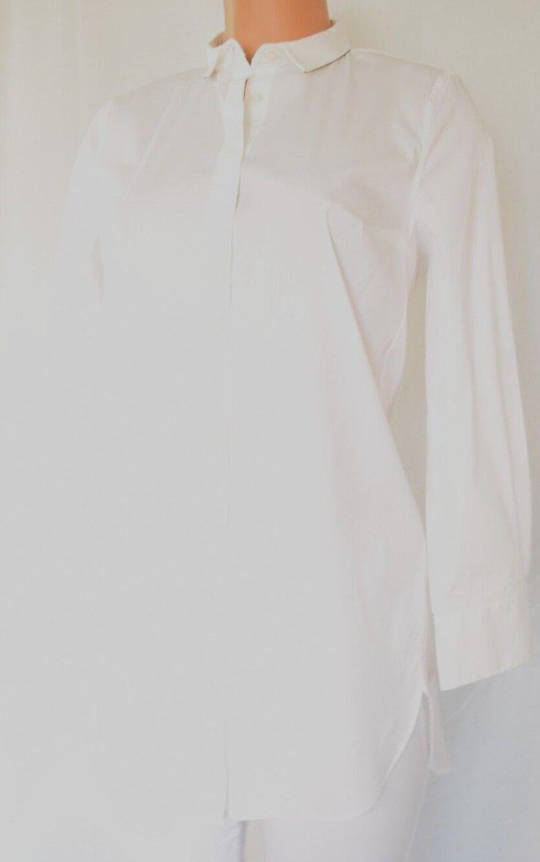 Brunello Cucinelli  blancoo Manga Larga Mini Cadena Cuello Aplicación TALLA L  bajo precio