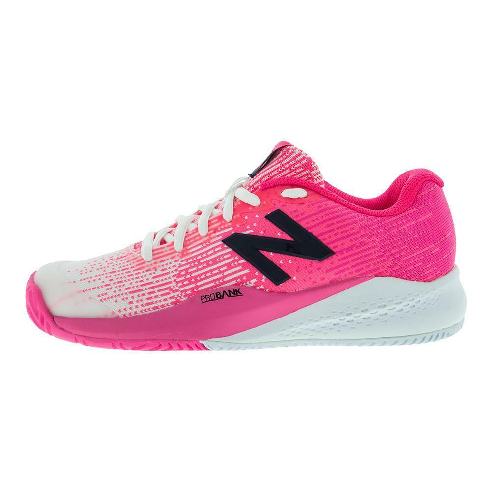 NEW BALANCE Donna`s 996v3 Size 6.5 Tennis Shoes Alpha Pink and White WC996PB NEW