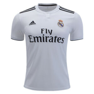 adidas-Men-039-s-Real-Madrid-18-19-Home-Jersey-Core-White-Black-DH3372
