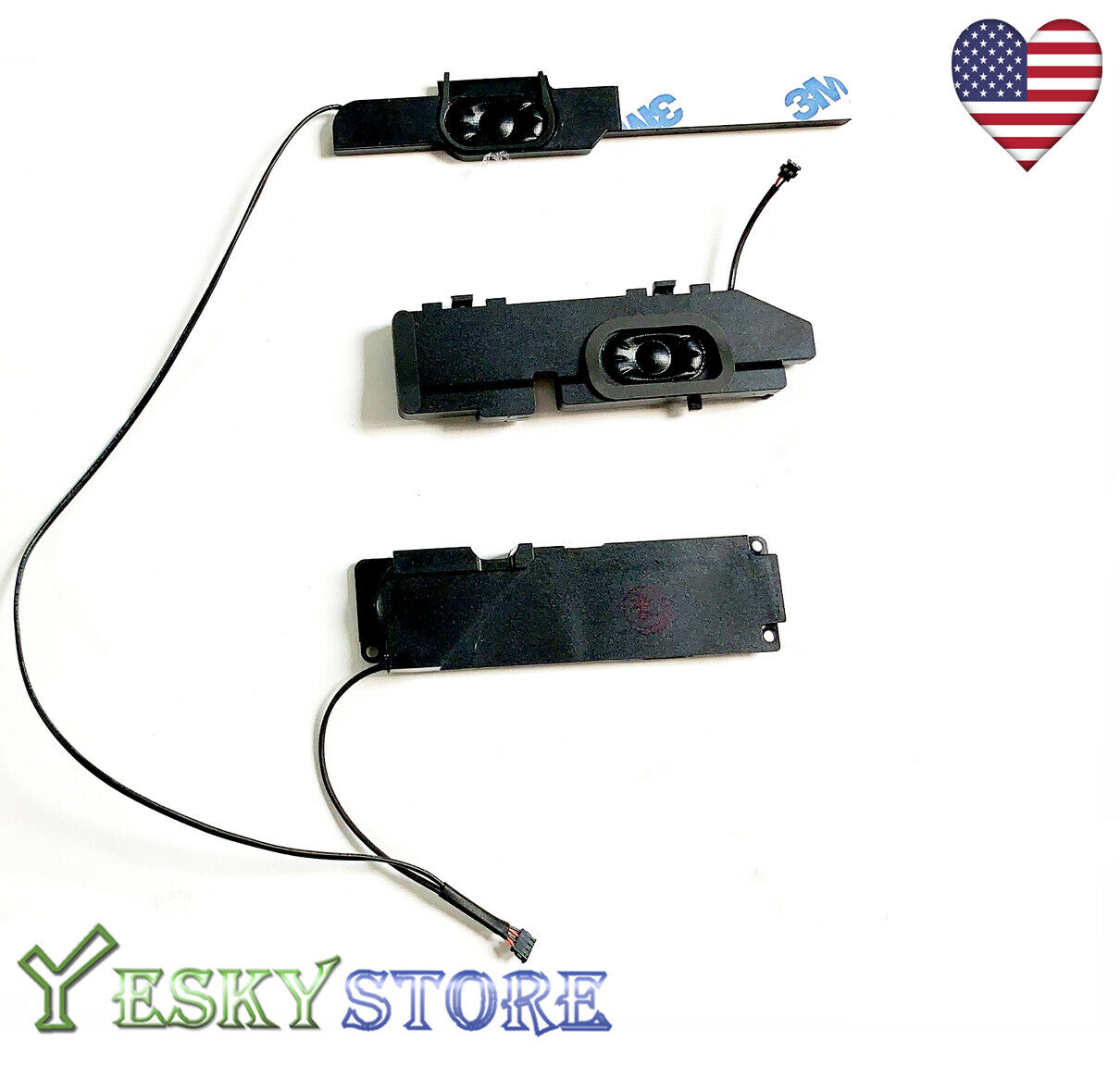 """New Left+Right speaker for Macbook Pro 13/"""" A1278 2011 2012 Replacement Pair"""