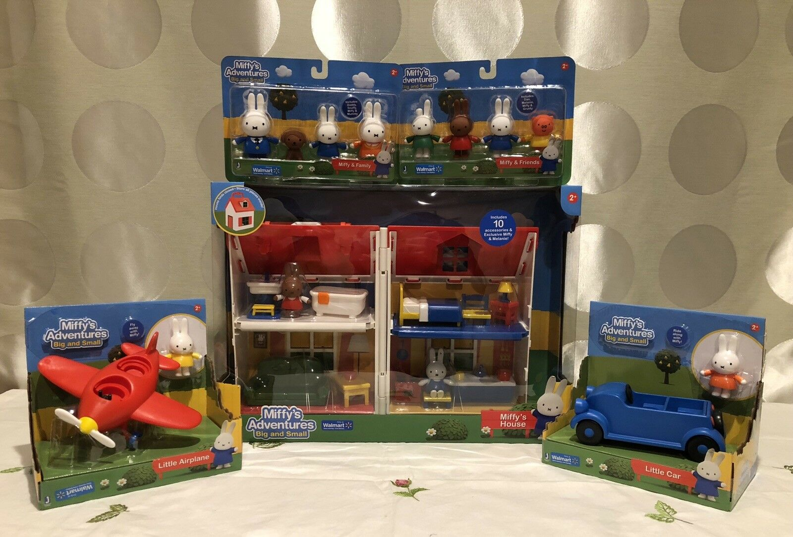 Miffy's Adventures - Miffy's House and Other Playsets