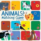 Animals Matching Game by Bob Barner 9781452100555 2011