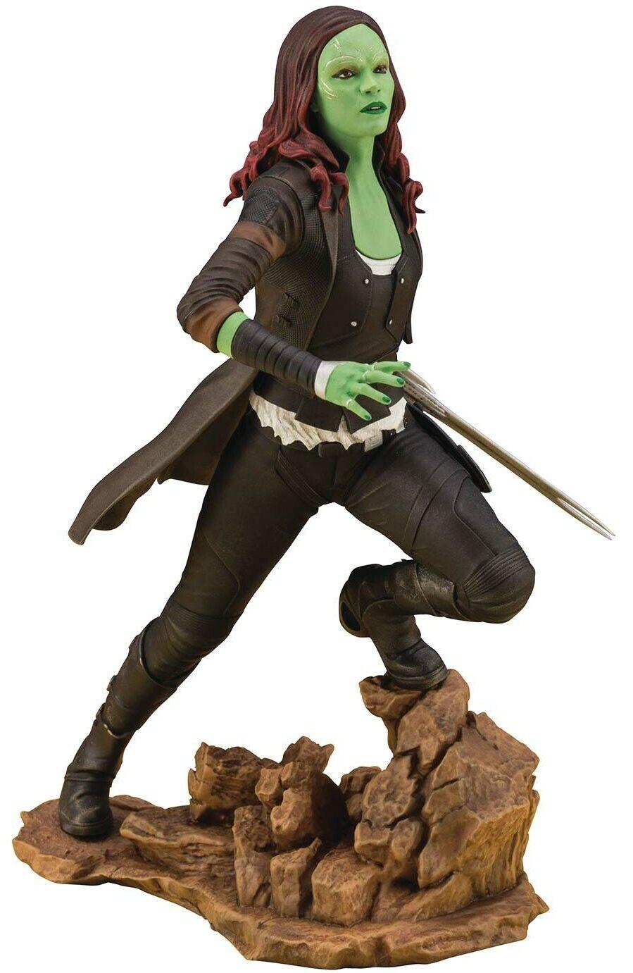 Marvel Vengadores Infinito Guerra ArtFX + Gamora Estatua