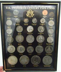 us twentieth century type coins
