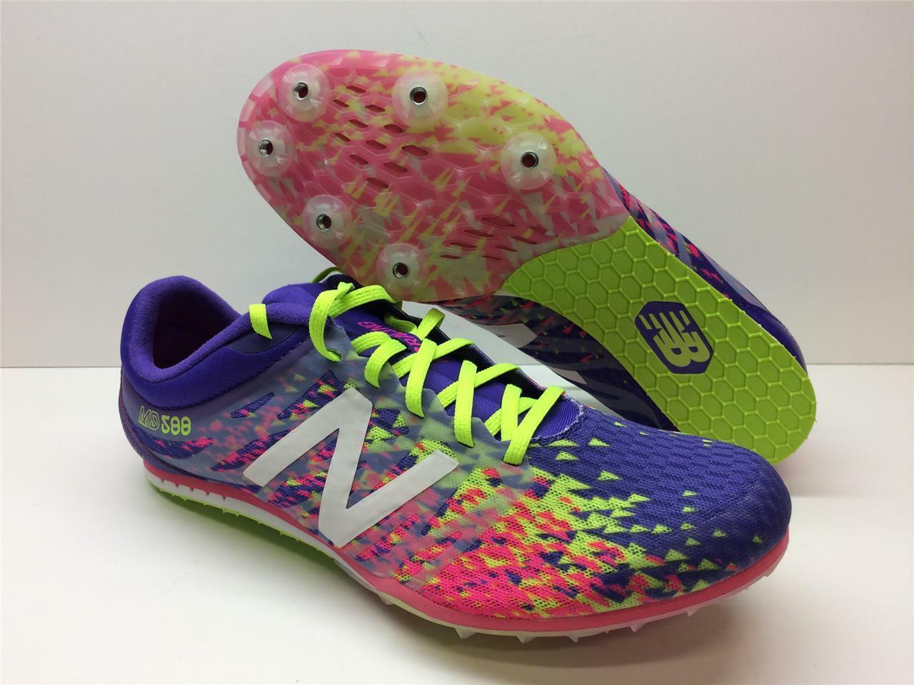 New Balance Mid Distance 500 Racing Track Spikes Hurdle Jumps Racing Womens 10