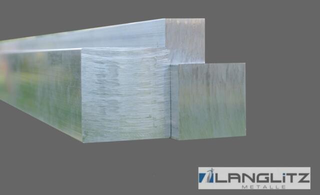 Aluminium Vierkant Vierkantstange 50 bis 100 mm Stab Alu Block Vierkantmaterial