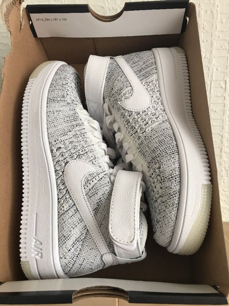 Donna, nike air force 1 flyknit noi
