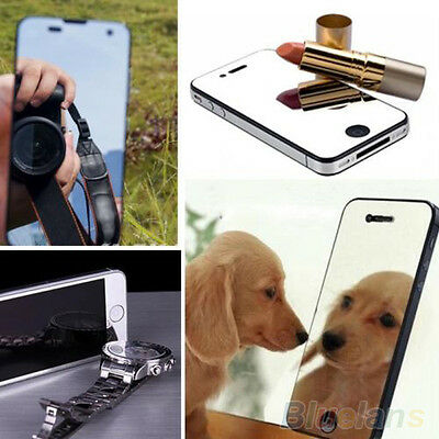 NOVELTY MIRROR SCREEN PROTECTOR COVER GUARD FILM FOR APPLE IPHONE 5S 6 6 PLUS