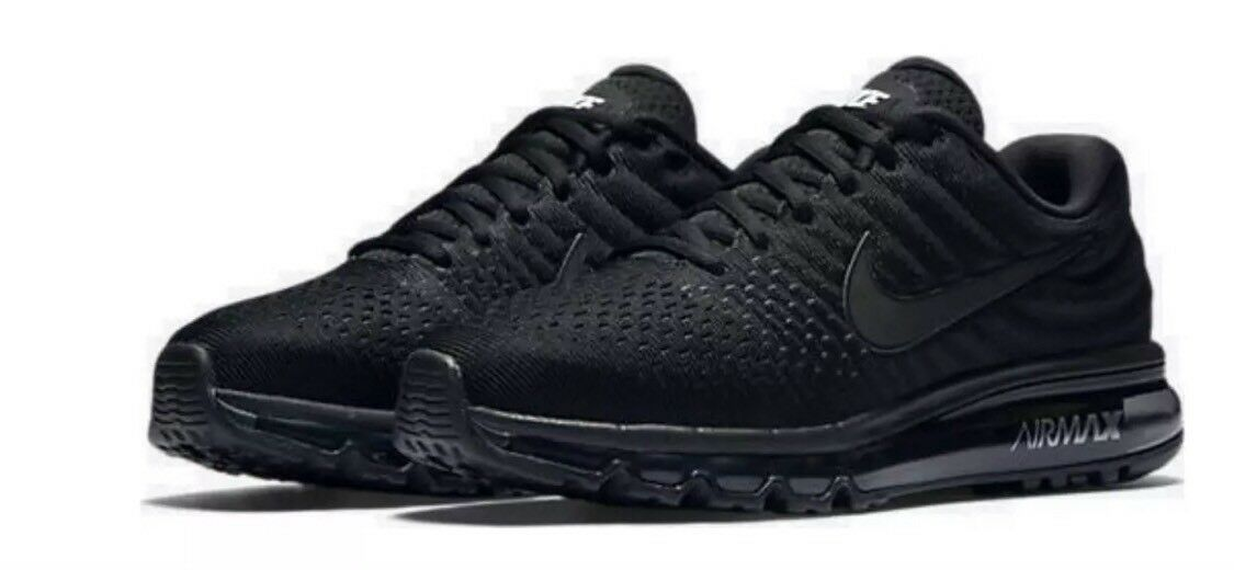 Nike Men's Size 7.5 Air Max 2018 Black Sneakers 849559 004 Shoes