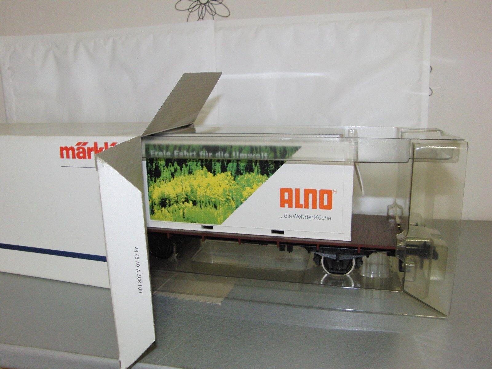 Märklin Spur 1 - Containerwagen  ALNO    - unbenutzt in OVP    | Verschiedene Waren  597288