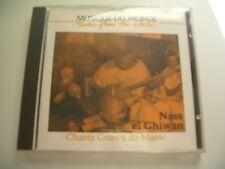 CHANTS GNAWA DU MAROC CD NASS EL GHIWAN.BUDA RECORDS FRANCE 82468-2.
