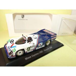 Porsche 956 N°8 Daytona 1985 Spark 1:43 Arrivée 1er