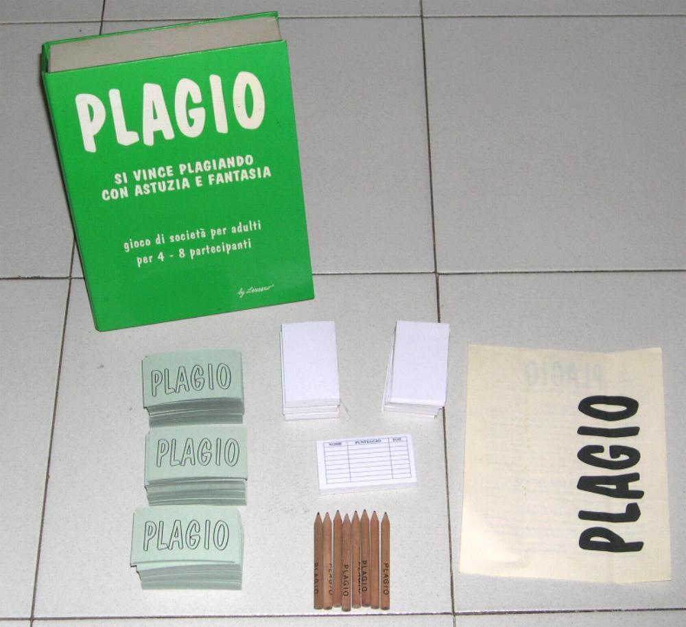 PLAGIO - Ed Lazzaro PERFETTO PRIMA EDIZIONE