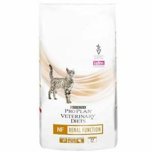 Nourrir les régimes vétérinaires Purina Pro Plan avec des chats félins et nf présentant une insuffisance rénale