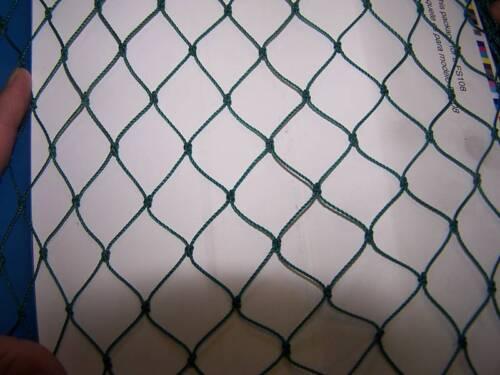 """50/' X 12/'  BASEBALL SOFTBALL SOCCER NET NETTING GREEN POLYETHYLENE  2/""""  #24"""