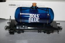"""Märklin 44525 2-Achser Glaskesselwagen """"Bols Blue"""" Spur H0 OVP"""