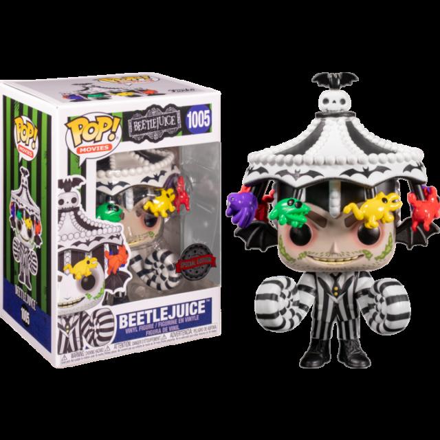 Beetlejuice with Carousel Hat Funko Pop Vinyl New in Box