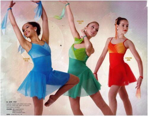 Lime Flourescent Jazz Dress Costume Dance SHAKE UP THE PARTY Mod 60/'s CXS 2XL