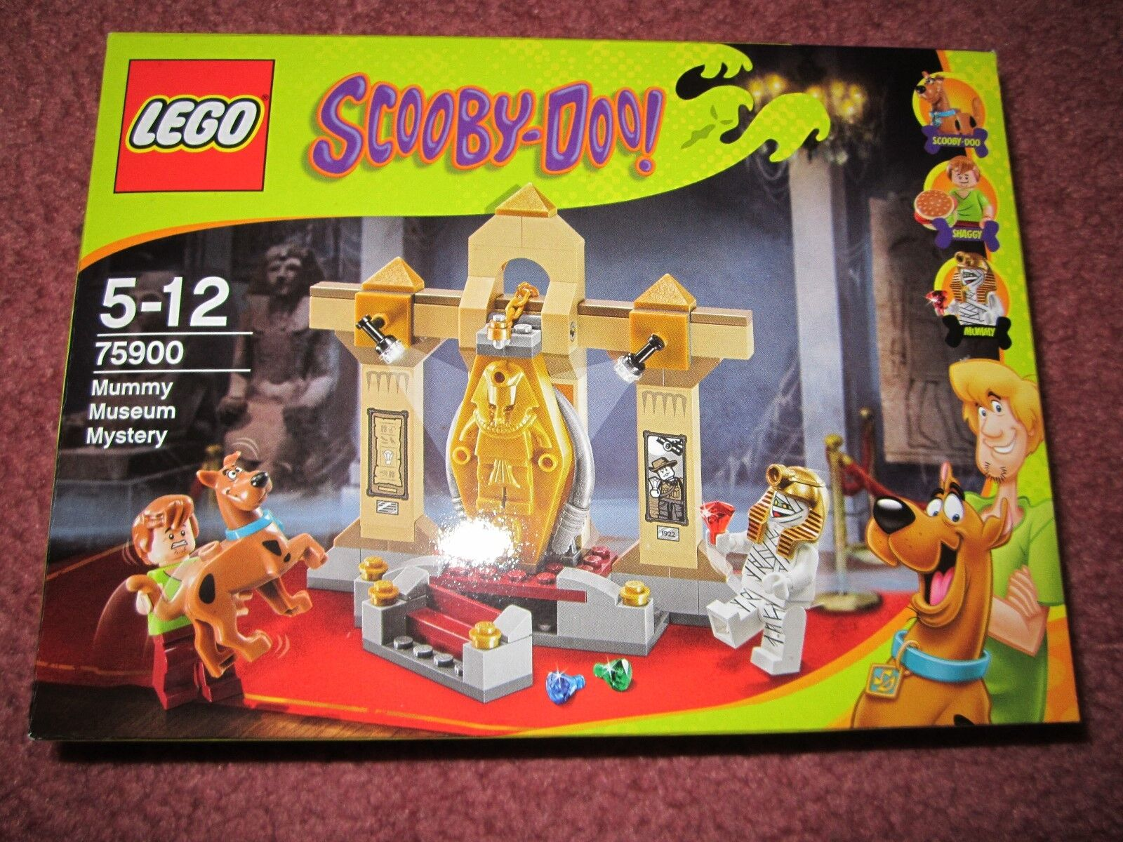 LEGO SCOOBY-DOO MUMMY MUSEUM MYSTERY 75900 - NEW BOXED SEALED